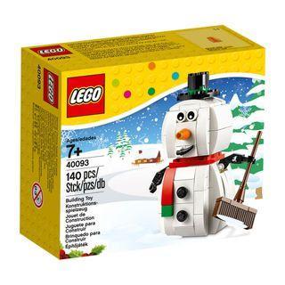 LEGO 40093 - Seasonal Christmas 2014 - Snowman (NEW)