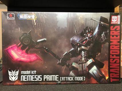 Model Kit nemesis prime (attack mode)風雷模型 黑色柯柏文 (全新)