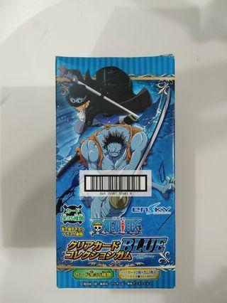 日本海賊王咭一盒16包