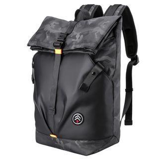 🔥IN STOCK🔥Stylish Trendy Black Men Backpack Camo Colour Trendy Design Outdoor Backbag