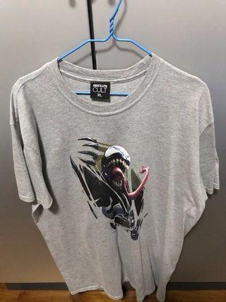 Absolute Cult Marvel Venom Chest Burst T-shirt