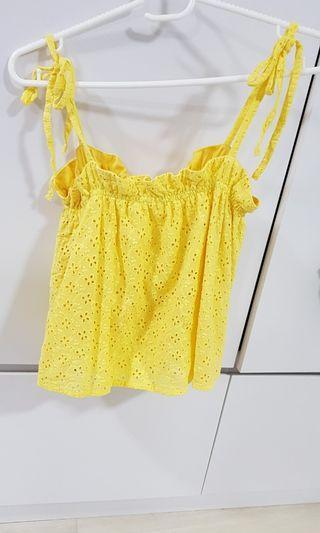 Yellow sweet top ohvola