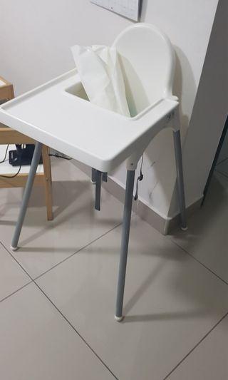 Ikea Highchair and insert