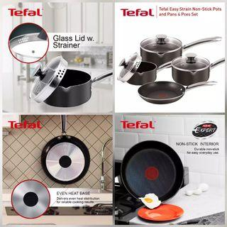 Set Tefal Easy strain+ pouring lips saucepan -Limited Time only!