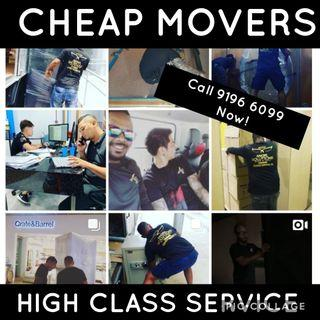Cheap High Quality Movers and Delivery Services