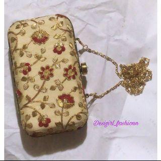 Handmade handbag/clutch/sling