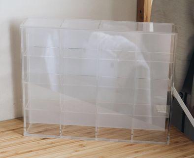 Muji acrylic display case