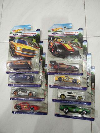 Hot wheels Full Set Complete 8 Ford Performance - All Mustang.  #MGAG101