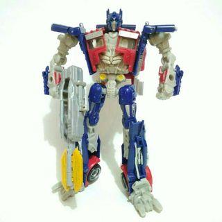 Hasbro transformers deluxe dotm optimus prime