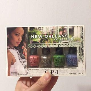 BNIB Authentic OPI New Orleans Mini Collection