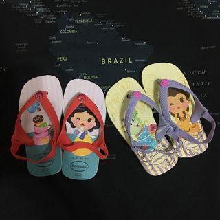 🚚 現貨-havaianas 哈瓦仕童鞋公主系列