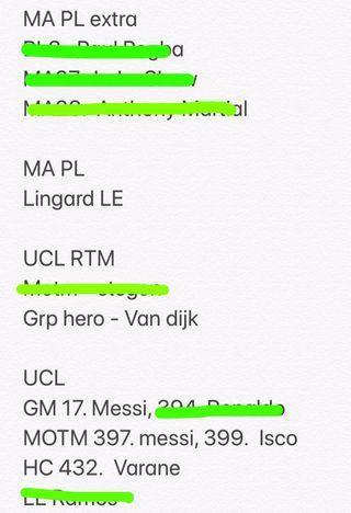 My need list