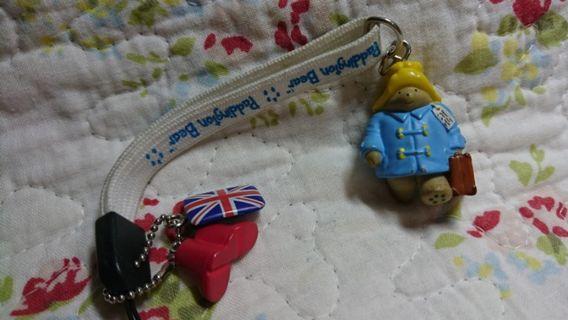 🚚 英國 伯靈熊 吊飾