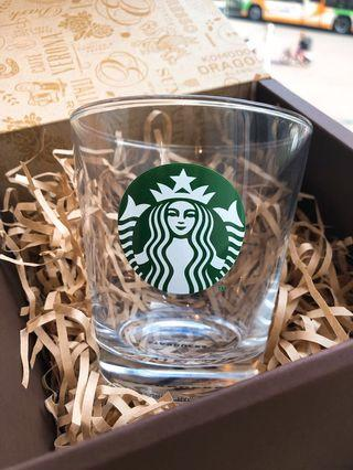 Starbucks 玻璃杯 made in japan