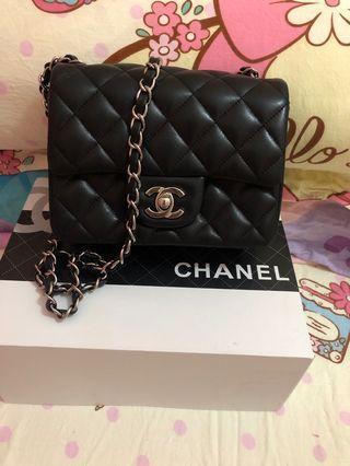 Chanel 17 cm 銀扣