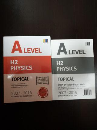 🚚 A Level H2 Physics TYS 2007-2016