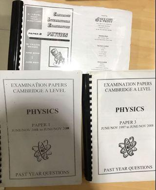 🚨 A-LEVEL BOOKS AND PAST YEARS (MATHS, Physics, Economics, Further maths)