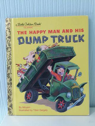 The Happy man and his Dump Truck Little Golden book