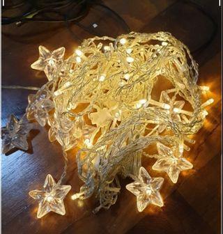Star curtain string light
