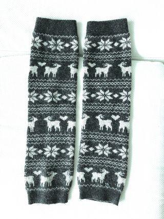 日本 保暖 毛毛襪套