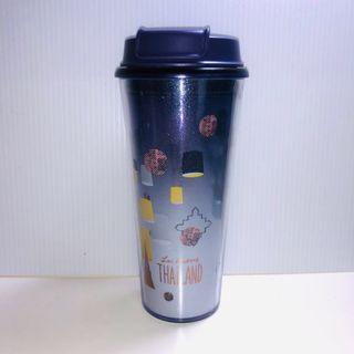 《Starbucks星巴克隨行杯》祈福水燈/天燈(紫色,泰國購回)