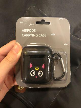 Sailor Moon Cat Airpod Silicone Case