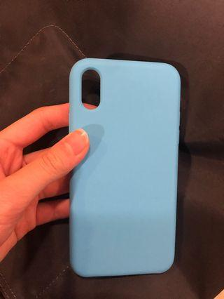 iPhone X/XS case SILICONE