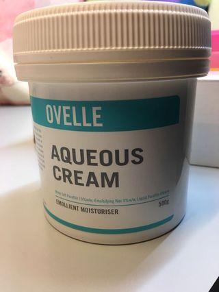 護膚霜 潤膚霜 Ovelle Aqueous Cream 濕疹