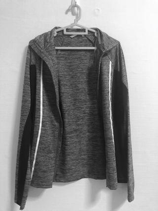 Grey sports jacket