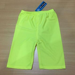 Brand New Neon Green Biker Shorts
