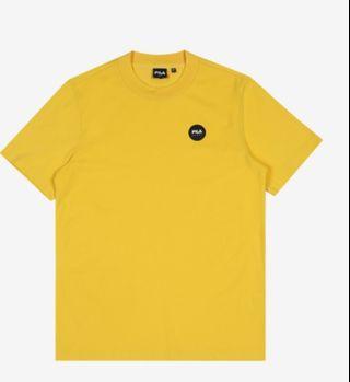 (Po) korea Fila Sports Black Line Series Yellow Tee FS2RSB2111X