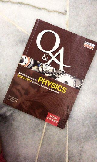 Matriculation Physics books (3 books)
