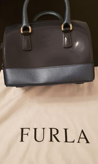 🚚 Furla Candy Bag with leather