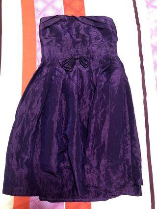 Royal Purple Prom Dress