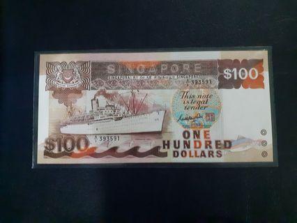 Ship Series$100 gks sign series a/1 393591