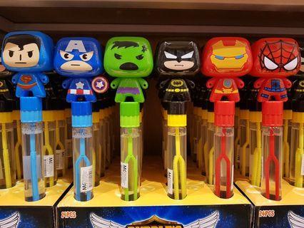 Avengers hero Bubble Water 泡泡水