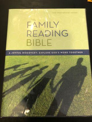 🚚 Wrapped family reading bible