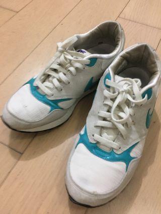 Nike Air 厚底 波鞋 Tiffany blue & light grey UK 4.5 EU 38