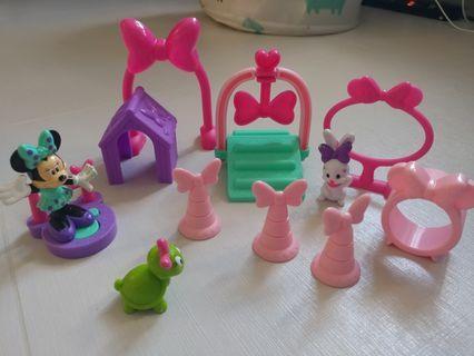 米妮 minnie 玩具