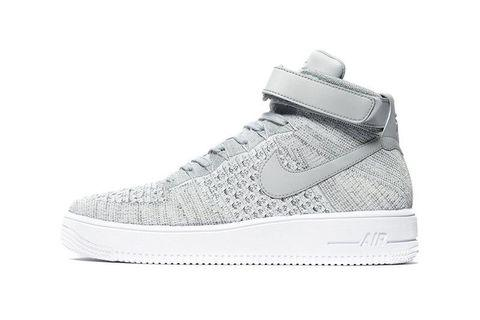 Nike Air Force 1 Mid Ultra Flyknit in Heather Grey