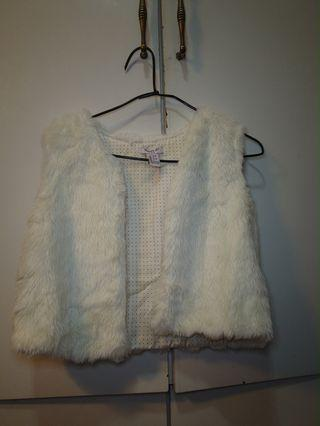 Forever 21 faux fur White