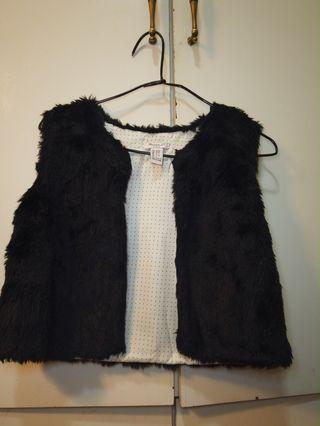 Forever 21 faux fur black