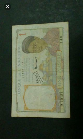 Indochina banknotes, indo china vietnam cambodia laos