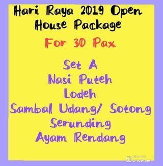 Hari Raya Open House Package (Catering)
