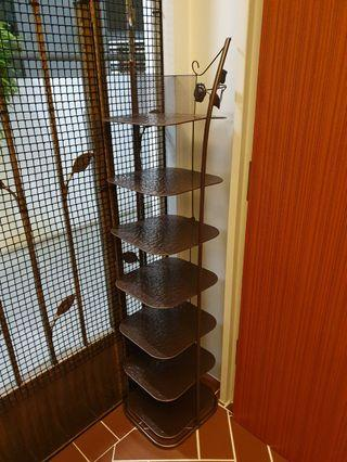 🚚 Shoe rack (7 tier bronze coloured)