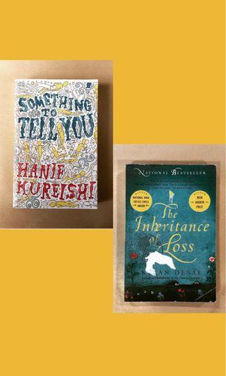 【Asian Authors】Something To Tell You & The Inheritance of Loss #RayaThon50