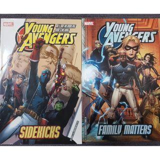 Young Avengers vol 1 and vol 2 TPB (Complete first series)
