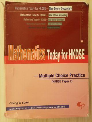 mathematics today for hkdse mc practice dse 數學 mathematics maths 練習 exercise