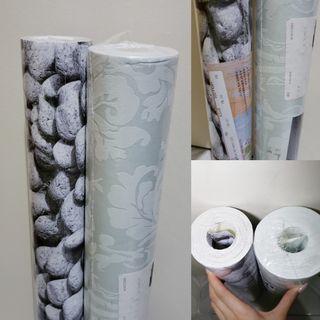 無黏性牆紙 10米x53cm 2卷 wallpaper