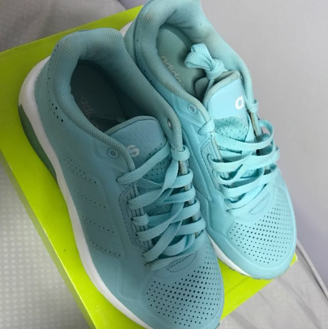 6a80b23e5 Adidas Neo cloudfoam Training shoes in Tiffany Blue, Sports, Sports ...